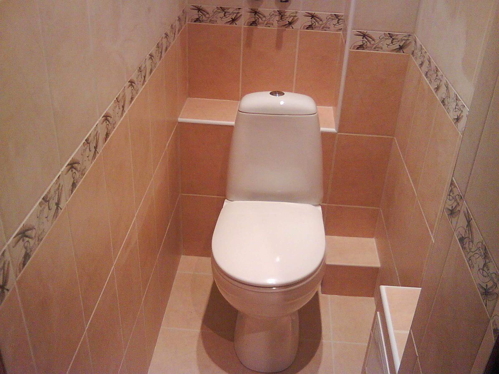 Ремонт своими руками в туалете фото